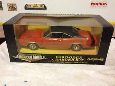ERTL 1969 DODGE CHARGER ORANGE/BLACK INTERIOR LE 1/10,000 1/18 :DIECAST  #32259