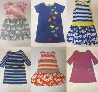 Girls dress ex Mini Boden  baby 2 3 4 5 6 7 8 9 10 11 12 years butterflies *NEW*
