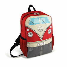 Backpack Small T1 Camper Van Bus Red Volkswagen VW Collection by BRISA BUBP11