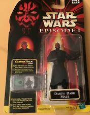 Star Wars Episode 1 'Darth Dark Maul' Figure Comm Talk Chip