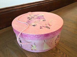 """Tri-Coastal Design Storage Hat Box 2003 """"Just Married"""" 12"""" X 5"""""""