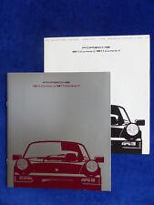 Porsche 911 Carrera MJ 1990 - Typ 964 - Prospekt Brochure + Daten 08.1989