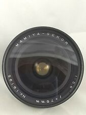 Mamiya Sekor P 75mm F/5.6 Lens for Universal Super 23