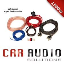 Car Amplifier Wiring Kit 1500 Watt Power Amp 10 AWG with Fuse Holder