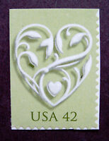 Sc # 4271 ~ 42 cent Wedding Heart Issue (bb5)
