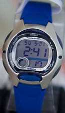 Casio LW-200-2AV Ladies Blue Digital Watch LED Light Sports 2 Time Zones New