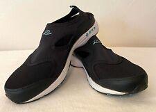 Easy Spirit Goddess Women's Black Mules Fabric Slip On Shoes Size 8 W