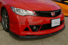 Carbon Fiber For Honda Civic Mug-style 06-11 FD2 Front Bumper Under Wing Lip Kit