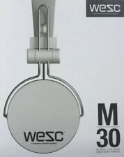WESC M30 Wired On Ear Headphones White