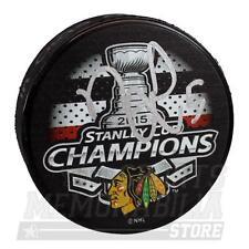 David Rundblad Chicago Blackhawks Signed Autographed 2015 Stanley Cup Champ Puck