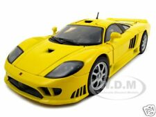 SALEEN S7 YELLOW 1:18 DIECAST MODEL CAR BY MOTORMAX 73117