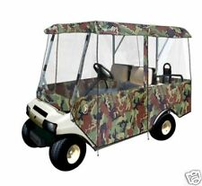 Drivable 4 Passenger Golf Car Cart Cover Enclosure Camo Camouflage