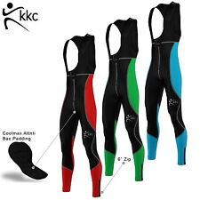 Men Cycling Bib Tights Winter Thermal Padded Mtb Long Pants Roubaix Material 1