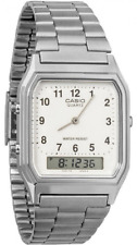 CASIO   AQ-230A-7BMQ   Unisex Analog Digital Retro White Dial AQ-230  AQ230