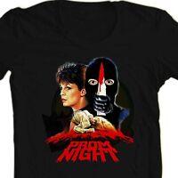 Prom Night t-shirt retro 80s 70s horror film movie tee Jamie Lee Curtis