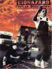 Biohazard - Urban Discipline (1994) Guitar Tab Song Book