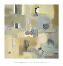 Music for the Moment by Nancy Ortenstone Art Print Abstract Poster 44x42