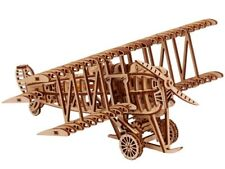 Plane - Wooden 3D Puzzle. Wood Trick Mechanical Model Assembly DIY Kit