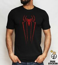 Spiderman logo T shirt Cool Superhero Inspired Gift Present Tee Top ALL SIZES