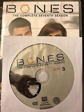 Bones - Season 7, Disc 3 REPLACEMENT DISC (not full season)