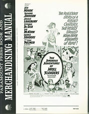 The Amorous Adventures of Moll Flanders (1965) Kim Novak  Pressbook