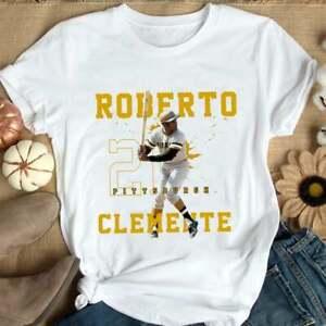 Pittsburgh Pirates Roberto Clemente Baseball T Shirt Funny Vintage Gift For Men