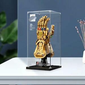 Display Case for LEGO Marvel 76191 Infinity Gauntlet (Custom Design)