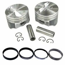 Speed Pro H660CP40 Chevy 327 333 Flat Top Hyper Pistons & Moly Ring Kit 040 SBC