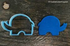 Tiny Elephant Animal Cookie Cutter, 3D Printed
