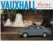 Vauxhall Victor FB 1500 1962-63 UK Market Sales Brochure Super De Luxe Estate