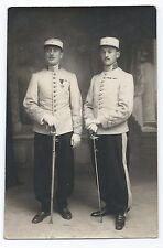 DA757 Carte Postale Photo vintage original RPPC Militaire 1920 épée sabre