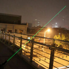 Green laser pointer 5MW Most powerful allowed UP-TO 12 Mile Range 2 in 1 GRADE A
