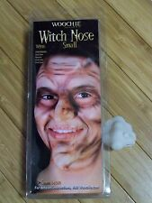 SMALL WITCH NOSE WITH WART APPLIANCE LATEX PROSTHETIC COSTUME MAKEUP CSWO130