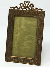 Cadre Bronze Doré Style Louis 16 Gilt Bronze Frame Antique French 19 eme