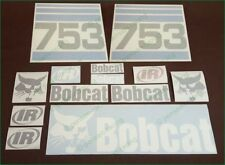 BOBCAT Blue 753 Decals Stickers Full Set Kit SKID STEER Loader Original Looking
