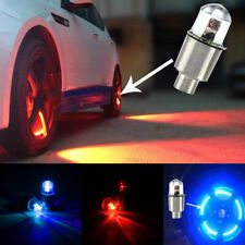 4*Car Wheel Tyre LED Lights Tire  Air Valve Stem Caps Cover Dragonfly Bulb Lamp