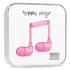 Happy Tapones Auriculares Rosa Con Micrófono Y Control Remoto Para Iphones, Samsung, Nokia, Lg, Htc