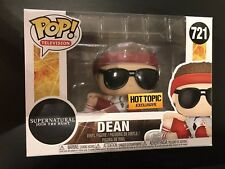 Funko Pop! Supernatural Dean Gym Teacher Hot Topic Exclusive In Protector #721