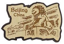 printtoo Holz gravierten Peking, China Magnets Andenken