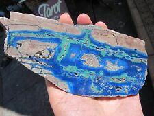 Azurite Malachite crystal slab slice high grade specimen consciousness