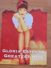 Gloria Estefan Greatest Hits Cd-Epic Records Promotional Standee 16 x 23-1992