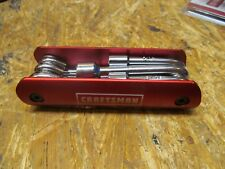 Craftsman 22009 6pc Nut Driver Folding Set  (Lot 6581)