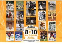 (1) 2020 Gold Rush 8X10  Picture Multi Sport Edition🏀 autographed🏒  🏉⚾