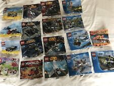 lego polybag bundle Starwars Batman Spider-Man City