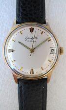 Vintage Glashutte GUB 69.1 hand winding men's dress watch rare dial 34mm