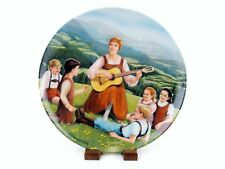 "1986 Collector Plate ""Do-Re-Mi"" (B), Sound of Music, Knowles, Crnkovich, #Plt17"