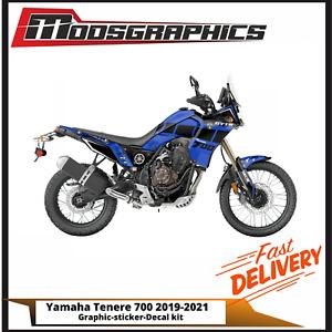 Yamaha Tenere Graphic Kit Full Sticker Decal Wrap Kit Fits 700 2019-2021