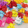 100pcs Mix Snail Plastic Buttons 15mm Sewing Craft 2 Holes Lots PT112