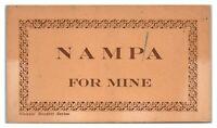 Lot of 5 Early 1900s Nampa, Idaho Postcard *6J24