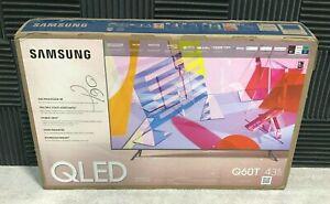 "Samsung Q60T 43"" QLED Smart TV (4K) QN43Q60TAFXZA Open Box New"